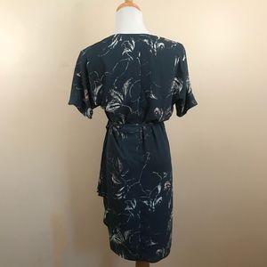 Babaton Dresses - Artizia Babaton Floral Wrap Wallace Mini Dress